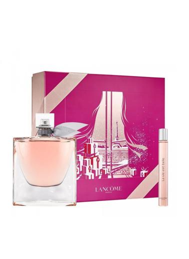 Lancome La Vie Est Belle EDP 75 ml + EDP 10 ml Kadın Parfüm Seti Renksiz
